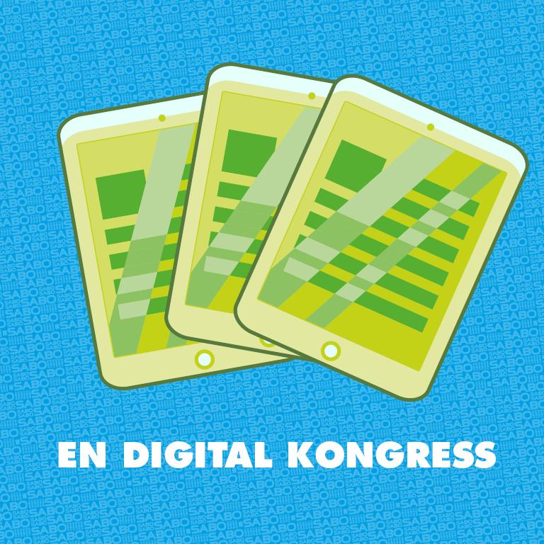 Kongressen är digital